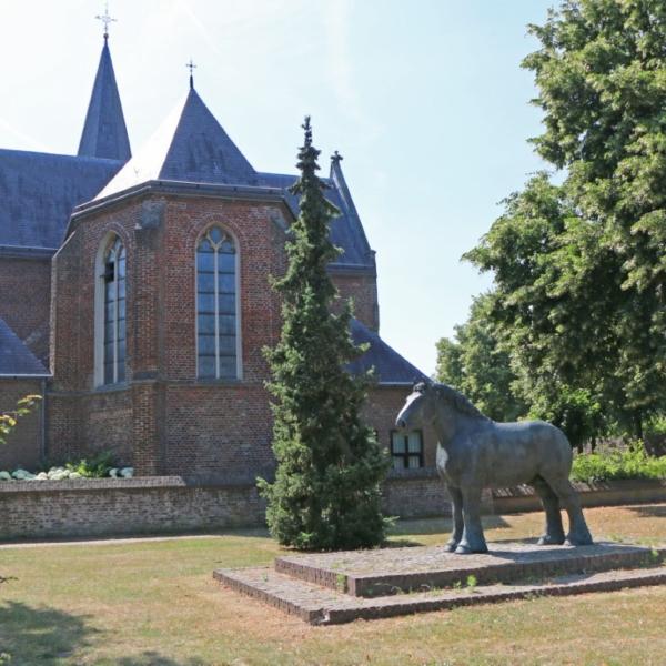 Gerwens St. Clemenskerk paard